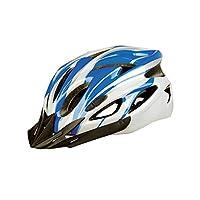 MONDSHI Unisex Adult RBY55 Bike Helmet - Blue/White, OSFA