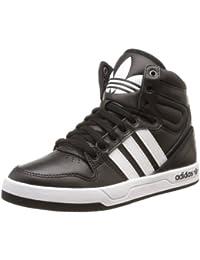 adidas Zapatillas Abotinadas Court Attitude K Negro/Azul EU 38 (UK 5)
