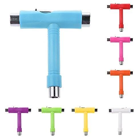 Multifunktionell T-Tool Schraubenschlüssel, mit Innensechskantschlüssel, All in One Reparatur