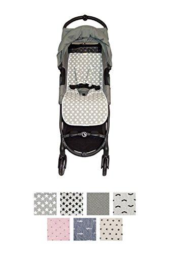 Fundas BCN ® - F160/93002 - Colchoneta Para Silla de Paseo BabyJogger ® Citymini Zip ® - Fun Vintage Star