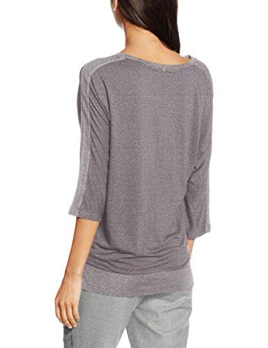 Ange Tusoeur, T-Shirt Femme Gris (Gris Chiné)