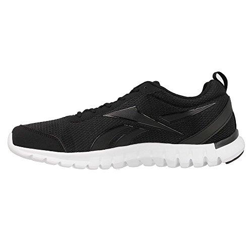 Reebok Sublite Sport, Scarpe da Corsa Uomo Nero (Negro (Black / White))