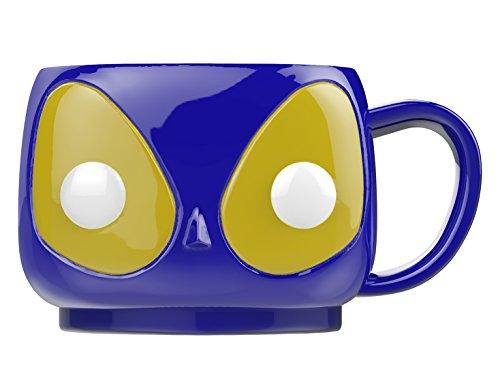 POP! Home: Marvel: Blue Deadpool Mug Taza, cerámica,, 9 x 10 x 9 cm