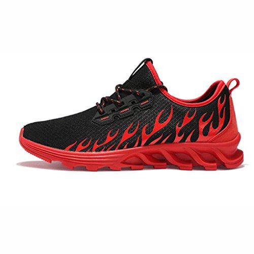 Chaussures de plein air Chaussures de randonnée d'été, chaussures de course Multisport imperméables pour hommes, chaussures de course de version coréenne, étudiants respirant Printemps Et Été Chaussur
