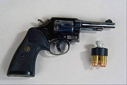 456015 Smith & Wesson Model 10 38 Special Revolver With Speed Loader A4 Photo Poster Print 10x8
