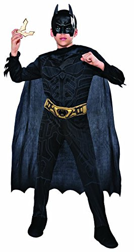 Rubie's it880055-m - batman, in scatola, costume, con batarang, taglia m