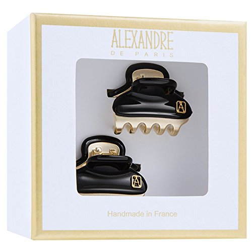 Alexandre Pince Vendôme Baby schwarz 2 Stück - De Paris Alexandre