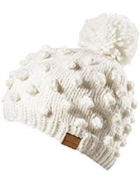 Black Canyon Mütze - Gorro de esquí para mujer, color blanco, talla 0