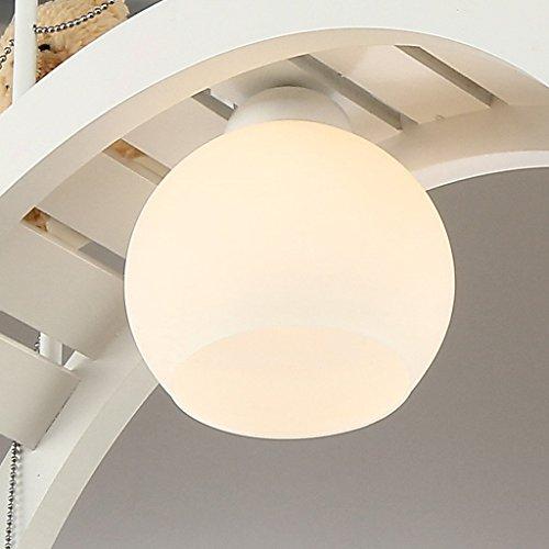 Es gibt gute Kinderraum Kronleuchter dekorative LED-Augenlampe Schlafzimmerlampe kreative Jungen und M?dchen Raum Tsuruhashi - 3