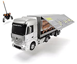 jouets dickie 201119884 camion mercedes benz actros t l command pr t rouler. Black Bedroom Furniture Sets. Home Design Ideas