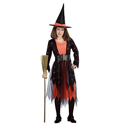 Halloween/kost¨¹m/f¨¹r m?dchen/partei/10-12/ hexen/spider (Kostüm Prinzessin Braut Priester)