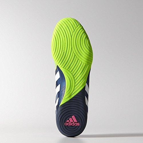 Adidas Scarpe da calcio Predator Absolado Instinct in Rich Blue/White/Solar Green m20135–Scarpe da ginnastica Indoor, (verde erba), 9.5 verde erba