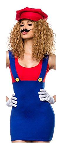 Mario Kostüm von Luxury & Good Dessous (Mario Super Für Mädchen Kostüme)