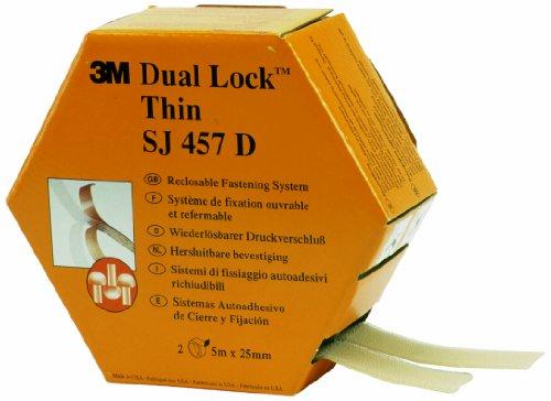 3m-dual-lock-sj457d-cierre-reposicionable-bajo-espesor-transparente-2-tiras-25mm-x-5m