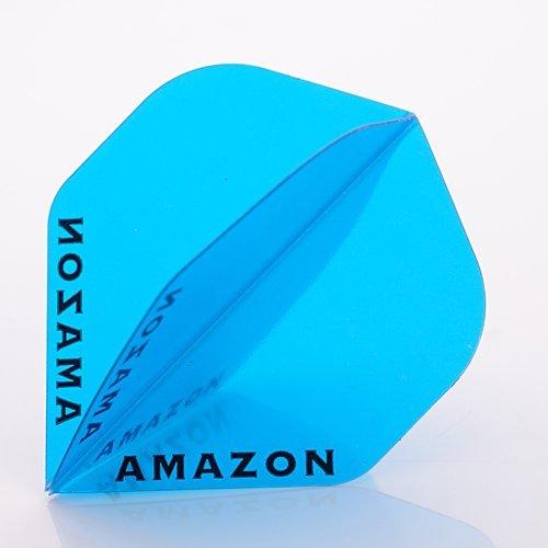 9-x-amazon-darts-flights-standard-transparent-blue-3-sets