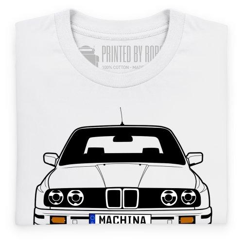 Bimmer Machina T-Shirt, Herren Wei