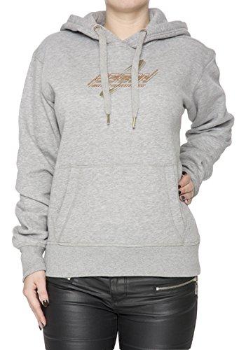 Poison Water Adventures Donna Grigio Felpa Felpa Con Cappuccio Pullover Grey Women's Sweatshirt Pullover Hoodie