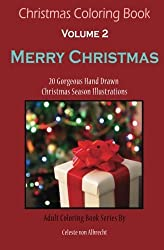 Christmas Coloring Book Merry
