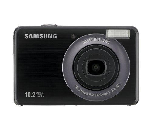 Samsung PL50 Digitalkamera (10 Megapixel, 3-fach opt. Zoom, 6,9 cm (2,7 Zoll) Display, Bildstabilisator) schwarz