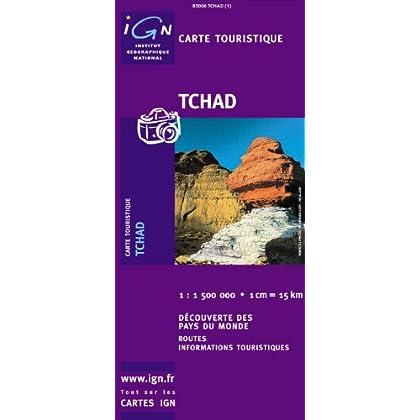 Carte routière : Tchad