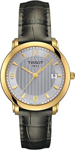 Tissot Sculpture Line 18 KT T71.3.134.64 Reloj de Pulsera para Mujeres
