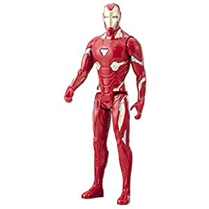 Marvel- Figura Titan Hero Series Infinity War, Iron Man (Hasbro E1410EU4) 12