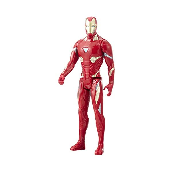 Marvel- Figura Titan Hero Series Infinity War, Iron Man (Hasbro E1410EU4) 1