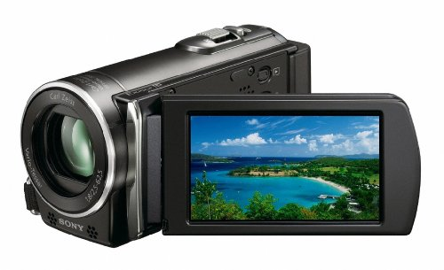 Cheapest Price for Sony HDR-GW77E CX115 Camcorder HD Flash, 25 x Optical Zoom, 6.7 cm (2.7 Zoll) Display) on Amazon