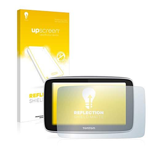 upscreen Pellicola Protettiva Opaca Compatibile con Tomtom Go Premium X Protezione Proteggi Schermo - Antiriflesso, Anti-Impronte