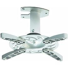 Soporte de techo para proyector en blanco inclinable 30° girable 360° para Hitachi CP-X3020
