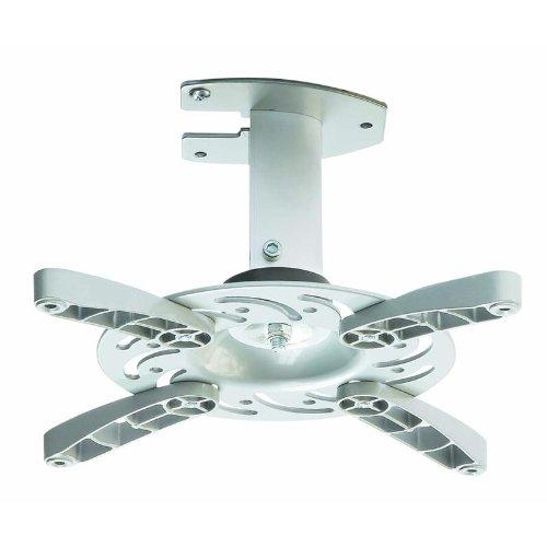 Soporte de techo para proyector en blanco inclinable 30° girable 360° para Panasonic PT-AT6000E