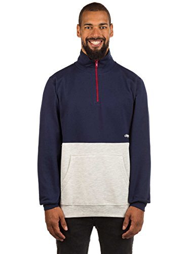 Cleptomanicx 91 Sweater Dark Navy