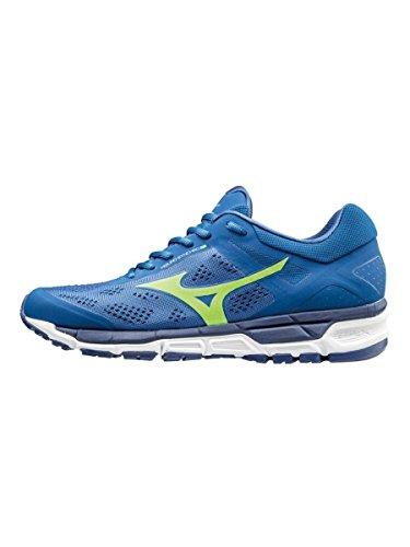 Mizuno Synchro Mx, chaussures de course homme Bleu
