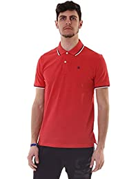 Champion m-polo Auth Cotton Pique, rojo, XX-Large