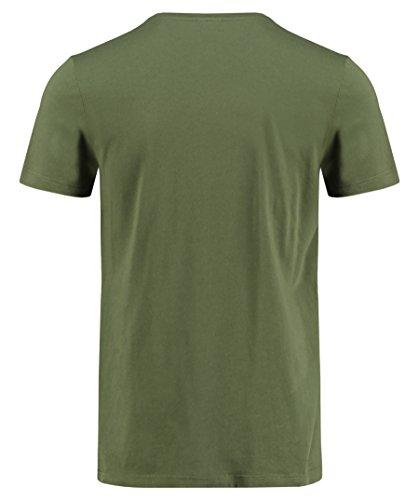 Lacoste Herren T-Shirt TH2038 - 00 Khaki