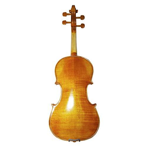 ACDGS I principianti a mano modello di legno della tigre del violino pittura ad olio lucido violino ACDGS (Color : Brown-3/4)