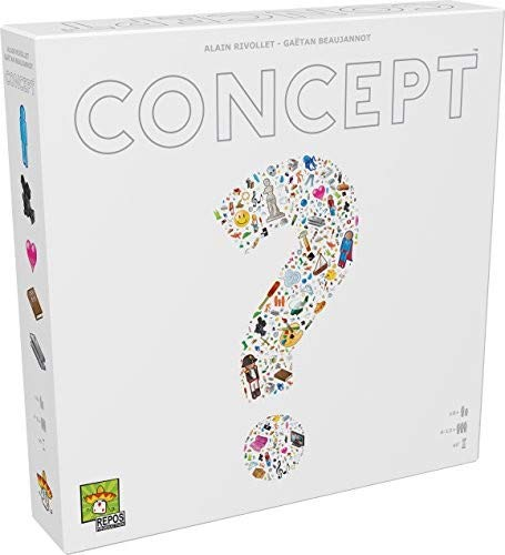 Repos Production ASMCONUS01 - Concept Brett/Kartenspiel - Englisch