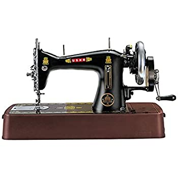 Usha Tailor Deluxe Sewing Machine Black Amazonin Home Kitchen Extraordinary Tailor Sewing Machine