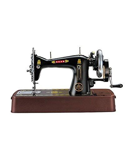 Usha Deluxe Manual Sewing Machine (Black)
