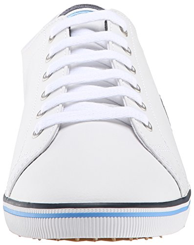 Fred Perry Kingston Leather White Bianco