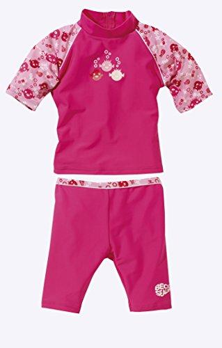 Beco Mädchen Schutzanzug UV Sealife, Pink, 92/98, 6883