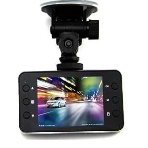 K6000 Enregistreur de conduite 2.7 pouces Caméra de voiture 140° objectif de rotation HD 1080P DVR avec HDMI G-senseur détection de mouvement