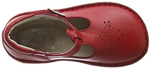 Start Rite Mini Lottie, Fermé Sandales Toe mixte enfant rouge (Red Leather)