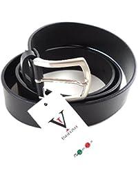 Vera Pelle Italy Ledergürtel Vollleder Designer Gürtel 4 cm