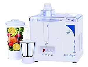 Orpat Kitchen Legend 500-Watt Juicer Mixer Grinder (White)
