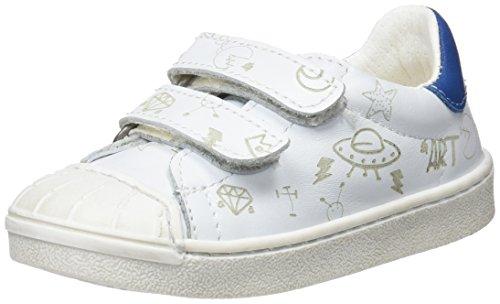 art Kids Jungen A164s Star White/Sidney Slip On Sneaker, Elfenbein, 35 EU