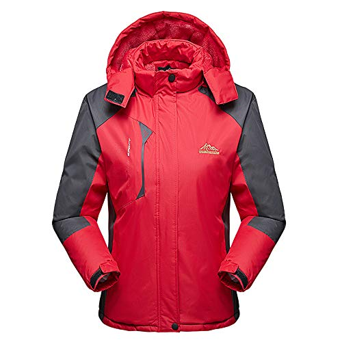 LHWY Kapuzenjacke Damen Herren Frauen Winter Mantel Plus Size Lange Baumwolle Gepolsterter Samt Verdickt Outdoor-Sportmantel - Plus Size Herren-winter-mäntel