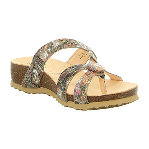 Think! 80331-27, Mules pour Femme taupe/kombi