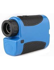 Excelvan Laser Télescope Télémètre Golf Testeur Distance Multifonctions Mesureur de Distance+Vitesse 600m - Bleu