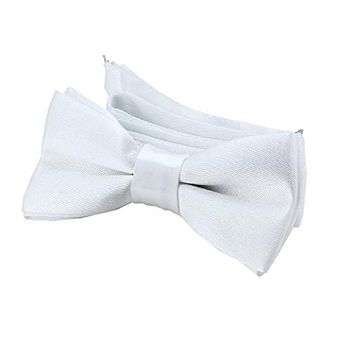 DonDon® Edle Kinder Fliege gebunden und längenverstellbar 9 x 4,5